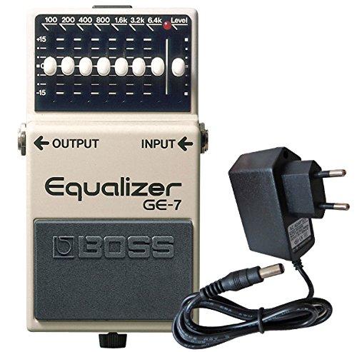 Boss GE-7 graphischer Equalizer für Gitarre + keepdrum 9V Netzteil