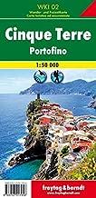 Cinque Terre - Portofino, Hiking Map 1:50.000 FB (English, Italian and German Edition)