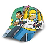 XIAODONG Anime Cartoon Simpsons Baseball Cap Belie
