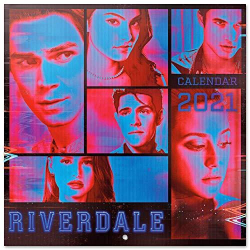 ERIK - Calendario de pared 2021 Riverdale, 30x30 cm, Producto Oficial (Incluye póster de regalo)