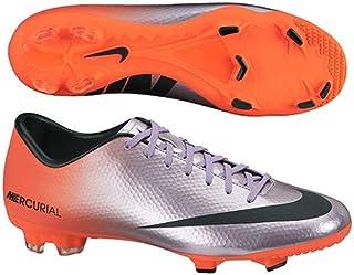 new style aa672 f7464 Nike Mercurial Victory IV FG Metallic Purple Orange Men s Soccer Cleats ...