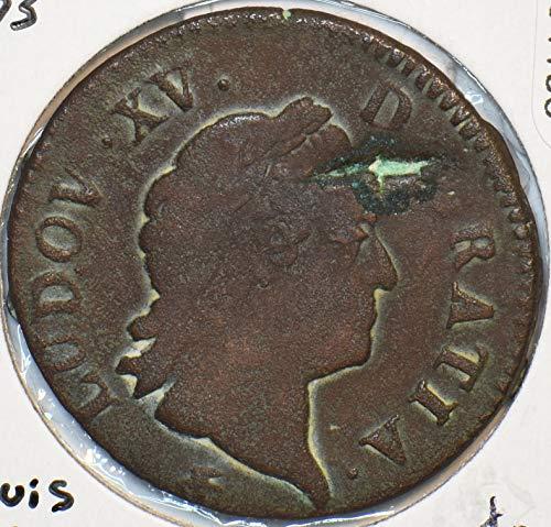 1773 FR France 1773 Sol Louis XV 491105 DE FAIR