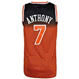 LYF Camiseta Baloncesto Jersey # 7 Carmelo Anthony Baloncesto, con Capucha, For Hombres Y Niños De La Aptitud Camiseta XS-XXL (Color : D, Size : XL)