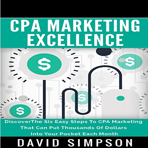CPA Marketing Excellence audiobook cover art