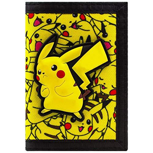 Pokemon Pikachu No.25 électrique Jaune Portefeuille