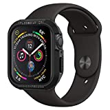 Spigen Rugged Armor Designed for Apple Watch Case for 40mm Series 5 / Series 4 - Black