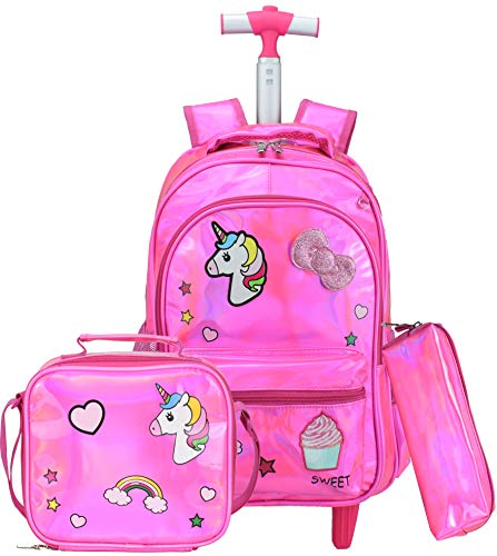 Licorne Cartable Roulette Bagages Cabine Loisir Voyage...