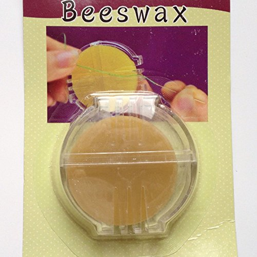New! Beeswax Sewing Thread Needles Quilting Needle Thimble Wax Sew Dressmaking