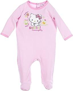 fe9297bd3d8f9 Minnie Pyjama Coton bébé Fille Charmmy Kitty Rose et Bleu de 3 à 23mois