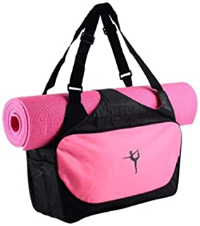 3252171c4c35 UIYTR Gym Bag for Women Workout Purse with Yoga Mat Holder Straps Roomy Tote  Bag For