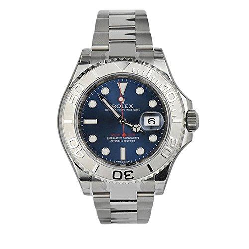 Rolex-Yatch-Master-Blue-Dial-Platinum-and-Steel-MensWatch-116622