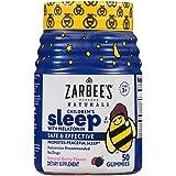 Zarbee's Naturals Children's Sleep with Melatonin Supplement, Mixed Fruit Flavored Gummies for Natural, Restful Sleep, (Mixed Fruit Gummies, 100 Count)