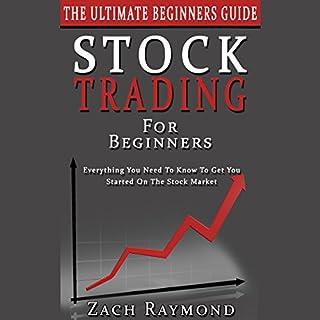 Stock Trading for Beginners - The Ultimate Beginner's Guide cover art