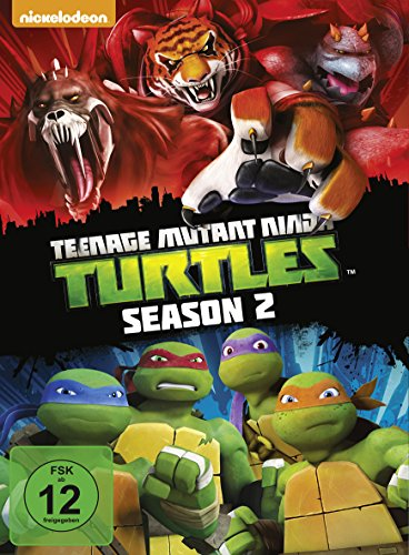 Teenage Mutant Ninja Turtles - Season 2 [4 DVDs]