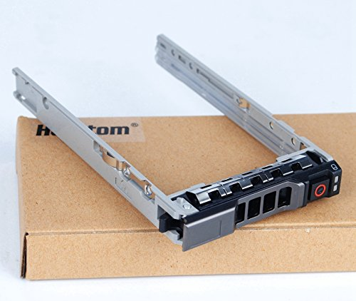 "Heretom - 2,5"" Bandeja de Disco Duro SATA SAS Tray/Caddy para DELL PowerEdge T640 T440 R630 R730 R730XD T630 R430 T430 PowerVault MD1420 MD3420 Compatible con Parte #8FKXC"
