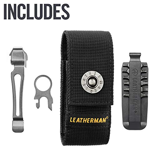 LEATHERMAN, Charge Plus Multitool with Scissors and Premium Replaceable Wire Cutters, Stainless Steel