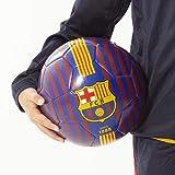 FCB FC Barcelona - Balón de fútbol, diseño de Rayas, tamaño 5