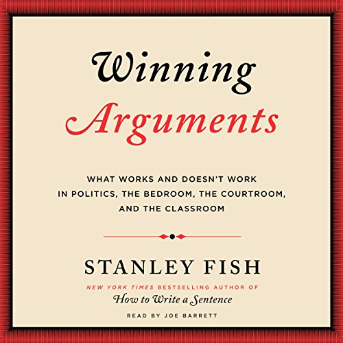 Winning Arguments audiobook cover art