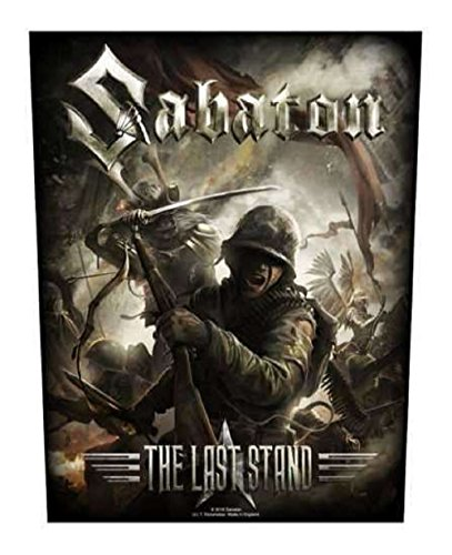 Sabaton The Last Stand Rückenaufnäher Sabaton Backpatch