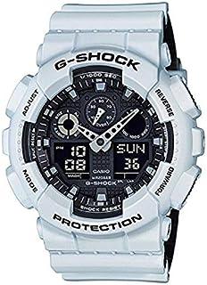 Casio G-Shock GA-100 Military Series Watches - White/One Size