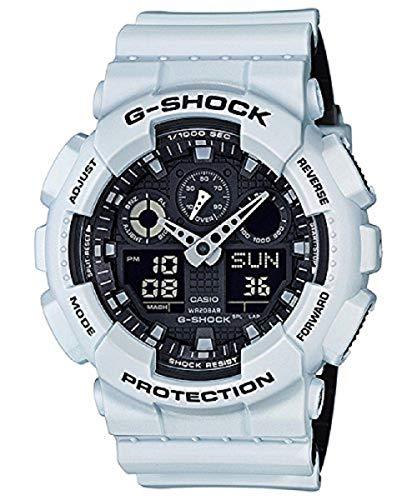G-Shock GA-100Series Relojes militares–naranja/talle único