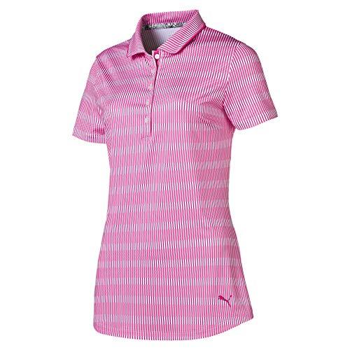 PUMA Polo de Golf Forward Tees pour Femme Fuchsia Purple S