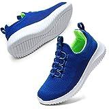STQ Boys Tennis Shoes Lightweight Breathable Slip On...