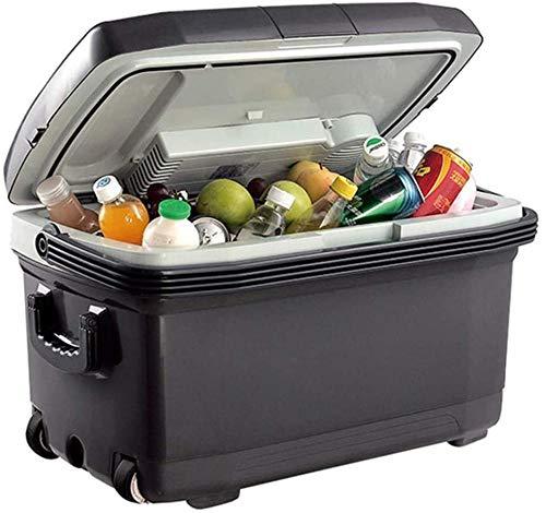 45L refrigerador del coche mini pequeño refrigerador estudiante dormitorio refrigerador coche hogar 2 con calefacción y caja de enfriamiento
