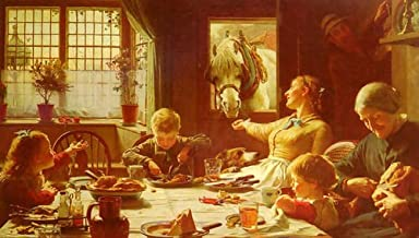 Frederick George Cotman One Of The Family 121x72 [Kitchen]