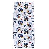 Disney Mickey Mouse Preschool Nap Pad Sheet, Blue, 19' x 44' [並行輸入品]
