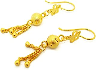 23k gold earrings