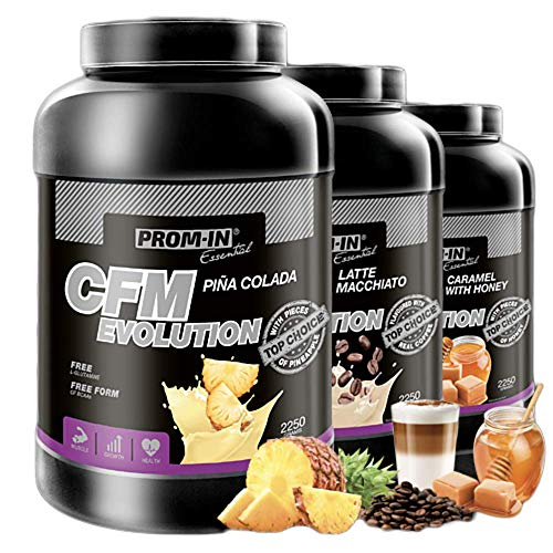 PROM-IN CFM Evolution Top Choice Proteins High Percentage Protein Drink According to the Original CFM Method 2250 g (Caramel with Honey)
