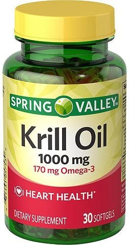 Spring Valley - Krill Max 57% OFF Oil Store Softgels 30 mg Omega-3 1000