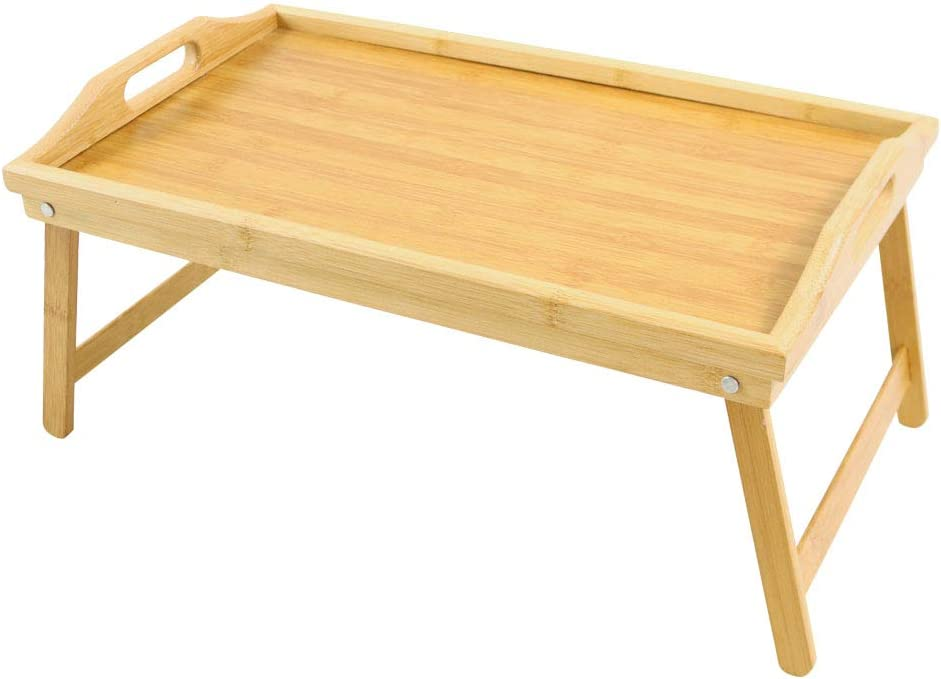 Bamboo Bed Table Tray Colorado Springs Mall Phoenix Mall with Breakfast Foldable Legs