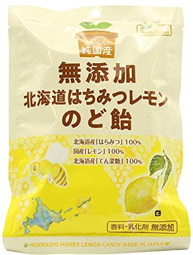 (ノースカラーズ)純国産北海道はちみつレモンのど飴68g※2021年7月新商品