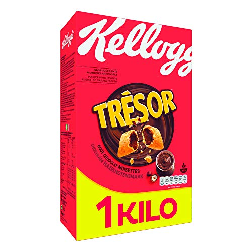 Céréales Trésor Kellogg s Chocolat Noisettes - 1Kg