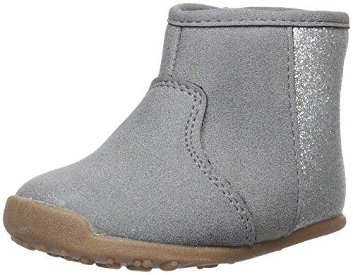Carter's Every Step Girls' Stage 3 Walk, Amylene-WG Fashion Boot, Grey, 5.5 M US (12-18 Months)
