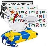 Bolsas para toallitas, Maxjaa soporte portátil para toallitas para bebés Bolsa...