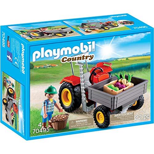 Playmobil 70495 - Gemüsebauer mit Erntetraktor