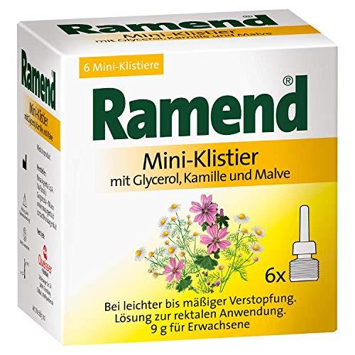 RAMEND Mini-Klistier 54 g Klistiere