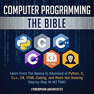 Computer Programming: The Bible audiobook cover art