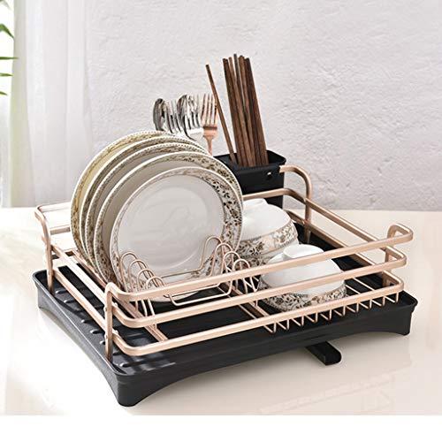 Home Küche Lagerung große Kapazität Multifunktionsablauf Stehen Gold YGDH