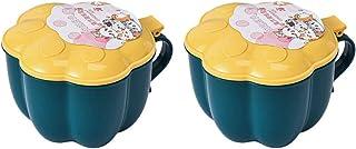 Cabilock Boîte de conservation en plastique avec couvercles en forme de patte de chat et boîte de rangement à 4 compartime...