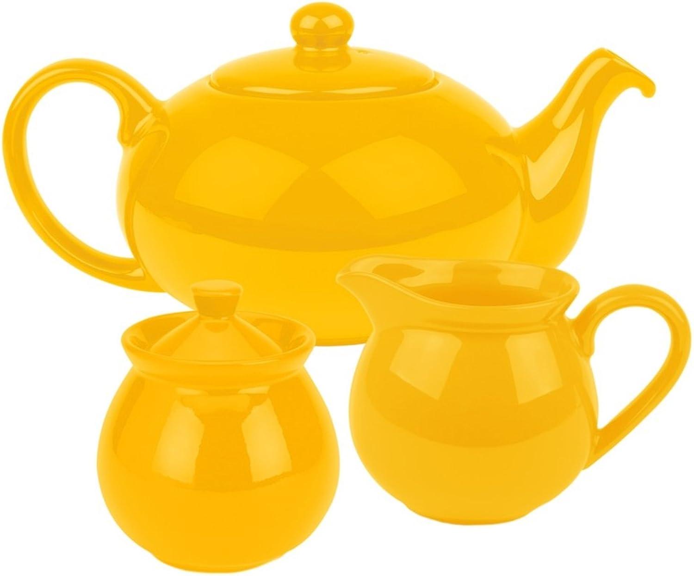 Waechtersbach Fun Factory Tea Set, Buttercup