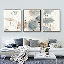 Paintsh Living Room Decoration Painting Sofa Background Wall Nordic Triple Painting Bedroom Restaurant Murals Simple Moder...