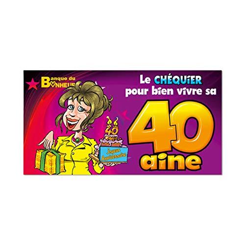 Chèquier 40 ans Femme