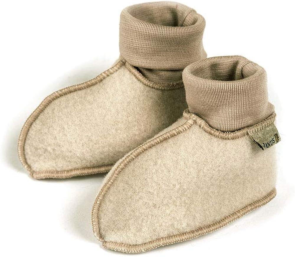 Cinnamon MERINO WOOL Baby Booties