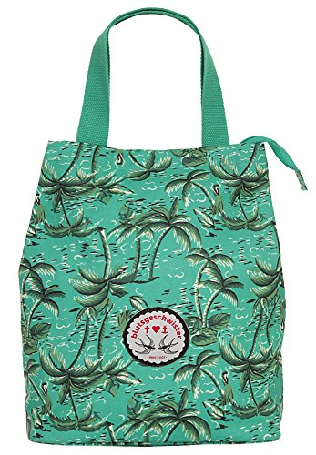 Blutsgeschwister Shopper BIG BEAUTIES SHOPPER Polyester türkis Damen - 019053