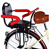 Asiento para Niños En Bicicleta, Infantil Silla Bicicleta, con Reposabrazos Y Pedales Antideslizantes, Seguridad para Asientos para Bebés De 2 A 8 Años