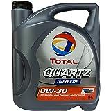 Aceite para motor Quartz Ineo FDE 0W-30, 5 litros